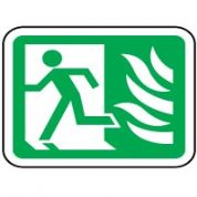 Safe Safety Sign - Fire Door 009